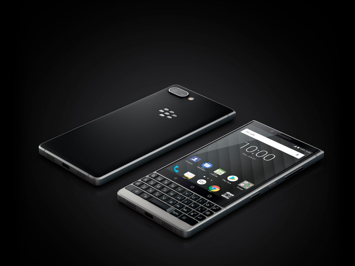 Two BlackBerry phones